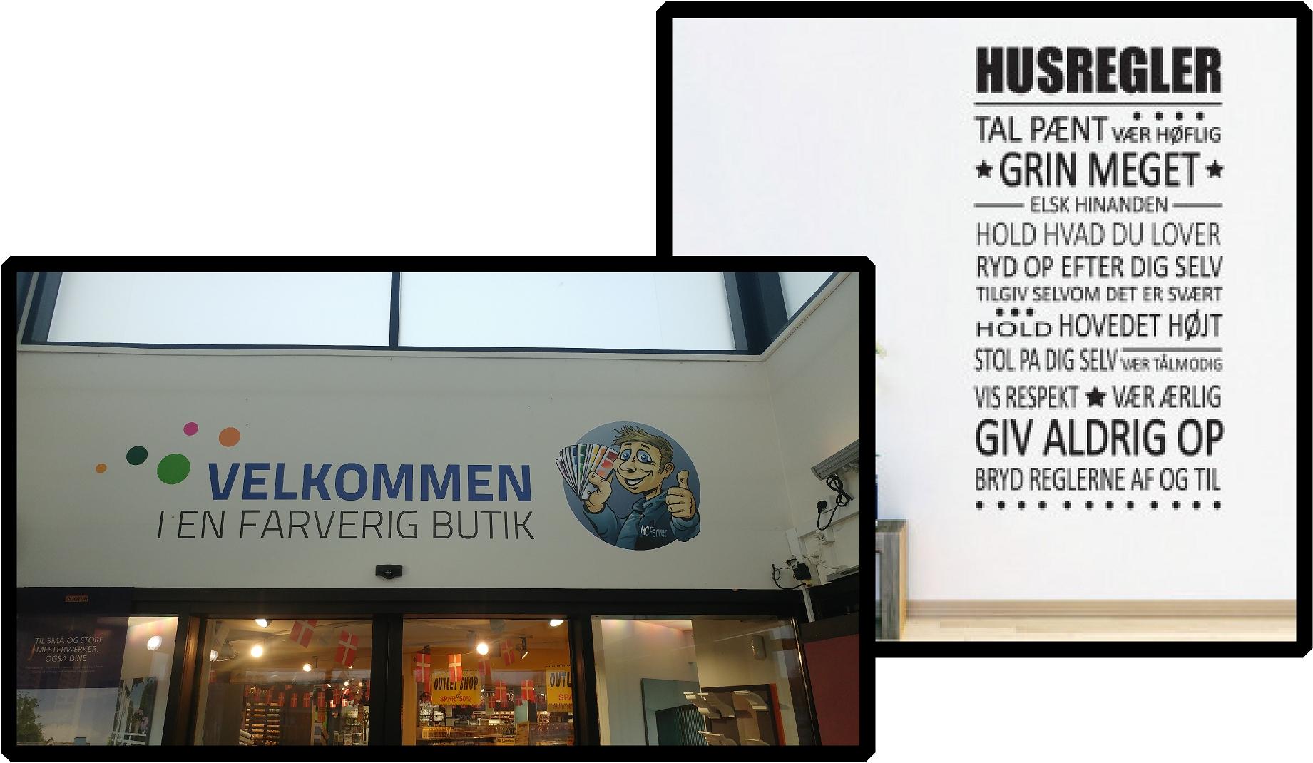 Events | Wallstickers | Plakat | Lærredsbillede | Storvægsbillede | Randers | Aarhus | Djursland | Midtjylland | Østjylland | Viborg | Hobro | Hadsten |  Skilte Design Randers