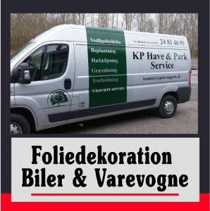 bilreklame | Reklamer til varevogne | Foliedekoration biler | Reklame på biler | Skilte Design Randers| Skilte Design Randers | Skiltecenter i Randers | Folie | Skilte | Reklame | Tekstiltryk |