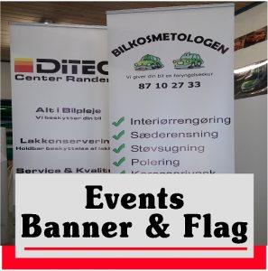 Banner | Flag | Beachflag | Eventsflag | Skilte Design Randers| Skilte Design Randers | Skiltecenter i Randers | Folie | Skilte | Reklame | Tekstiltryk |