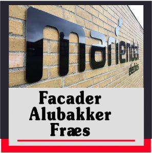 Facade | Facadebogstaver | Alubakker | Fræs | Skilte Design Randers ( Skiltecenter )| Skilte Design Randers | Skiltecenter i Randers | Folie | Skilte | Reklame | Tekstiltryk |