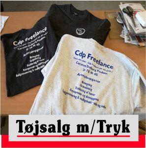 Tøj med logo | Tøjtryk | Arbejdstøj | Fritidstøj | Skilte Design Randers| Skilte Design Randers | Skiltecenter i Randers | Folie | Skilte | Reklame | Tekstiltryk |